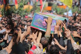 سپاه پاسداران از وداع عاشورایی ملت با شهید «محسن حججی» تقدیر کرد