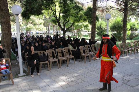 مراسم تعزیه خوانی حضرت ابوالفضل (ع) و پخت نذری باحضور شهروندان ارشد شهر
