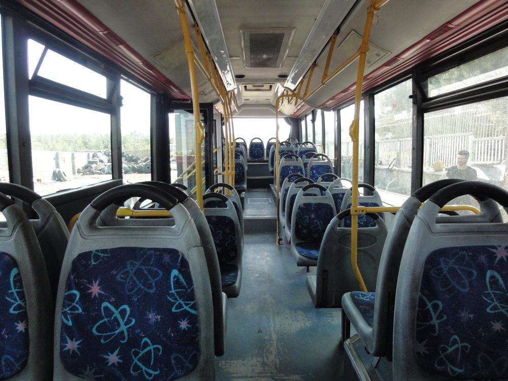 ضدعفونی روزانه ۱۶۰ دستگاه اتوبوس درونشهری اراک