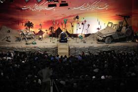 مراسم عزاداری سالار شهیدان امام حسین (ع) - مجتمع فرهنگی باران