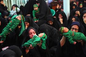 شهادت حضرت علی اصغر در حسینیه نورباران