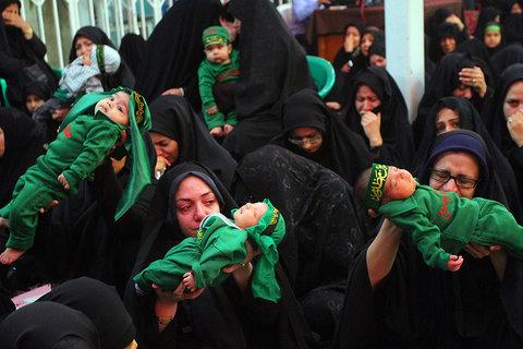 شهادت حضرت علی اصغر در حسینیه نوربان