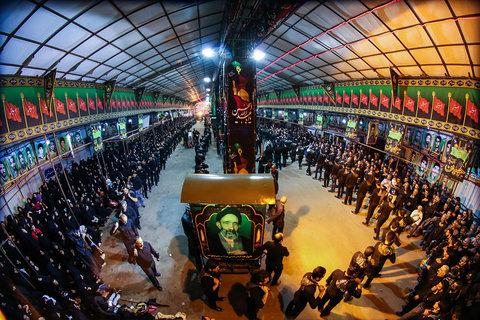 شبهای محرم در حسینیه مبارکه