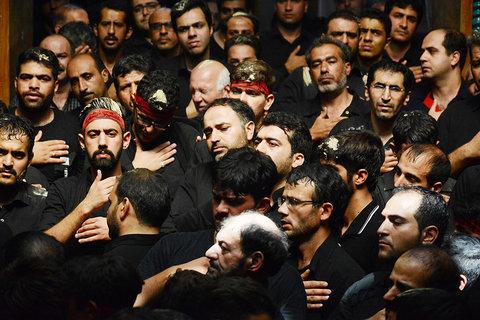 Muharram mourning ceremonies in Isfahan