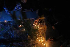 مراسم شام غریبان در آستان مقدس حضرت زینب اصفهان