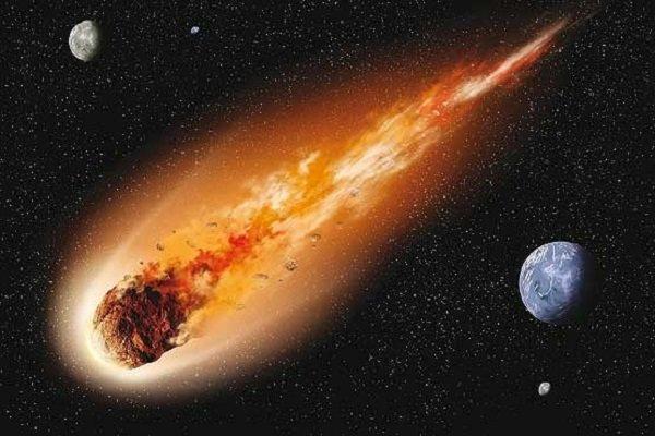 شهاب سنگ بزرگ به زمین نزدیک میشود+ جزئیات
