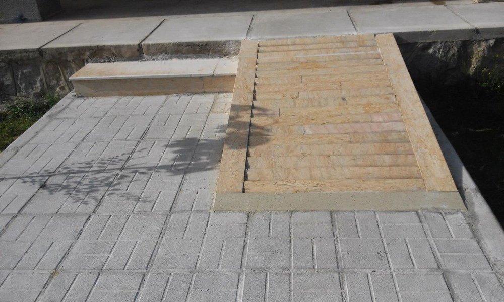 پیادهروهای خیابان آیتالله کاشانی یزد مناسبسازی میشود