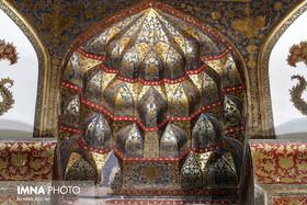 Elegant architecture of Imamzadeh Ismael/ Isfahan