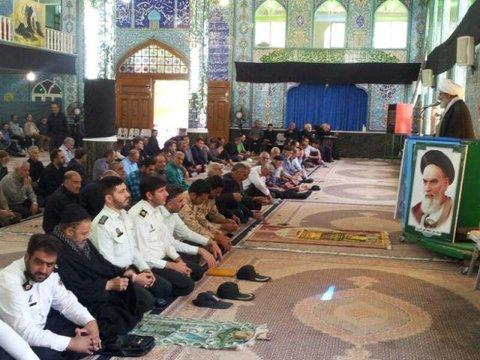 نماز جمعه بادرود