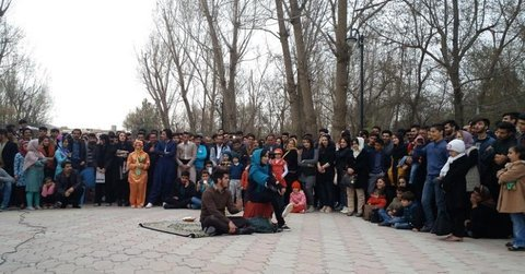 Street theaters underway across Isfahan