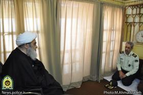 نیروی انتظامی یک نیروی ارزشی است/به برکت خون شهدا ایران اسلامی عزتمند شده است