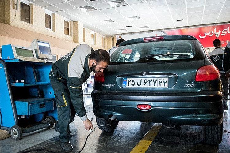 مراجعه بیش از ۶۰ هزار خودرو به مراکزمعاینه فنی خودروها در نیمه اول سال جاری