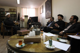 دیداراعضای کمسیون فرهنگی شورای شهر اصفهان با مدیر کل فرهنگ و ارشاد اسلامی استان اصفهان