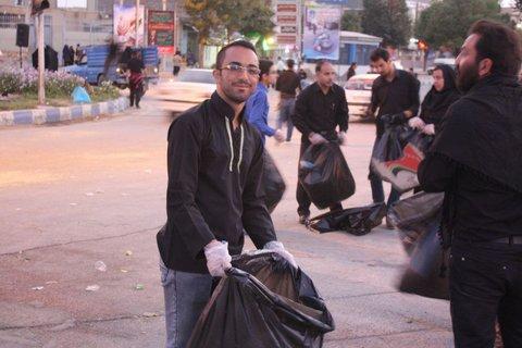 تاسوعا و عاشورا فرصتی برای ترویج فرهنگ حفظ پاکیزگی شهر