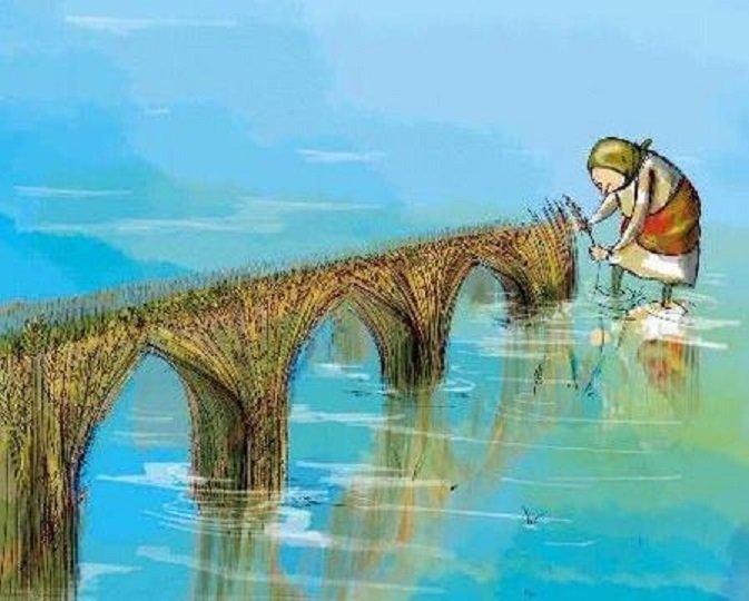 زنان، زاینده رود و خشکسالی محور این کارتون است