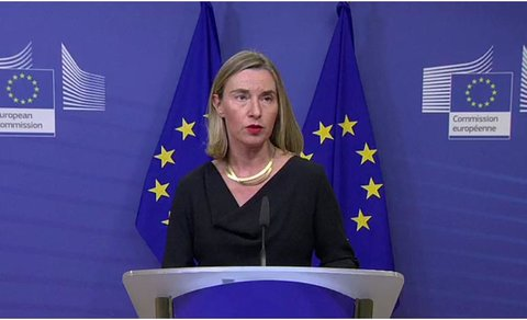 Mogherini: No country able to terminate Iran deal