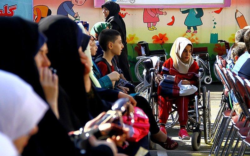 ۲۸ مدرسه ویژه دانش آموزان معلول جسمی حرکتی در کشور وجود دارد