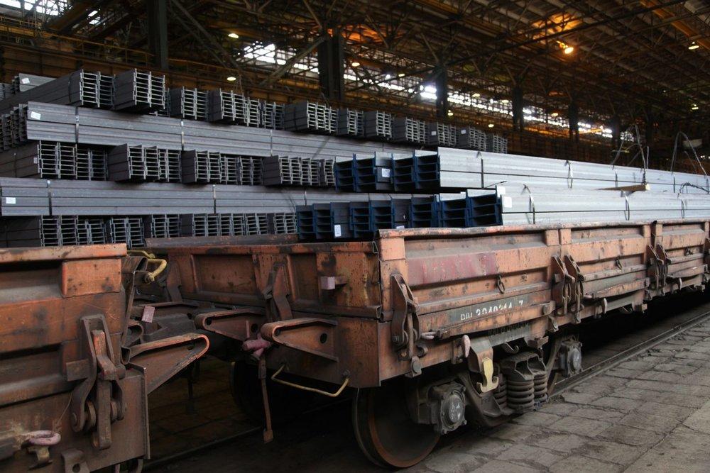 صادرات محصولات ذوبآهن برای نخستین بار به انگلستان