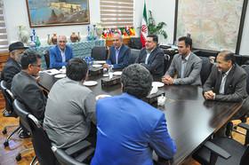 دیدار شهردار اصفهان با مدیران استانی و مهمانان خارجی