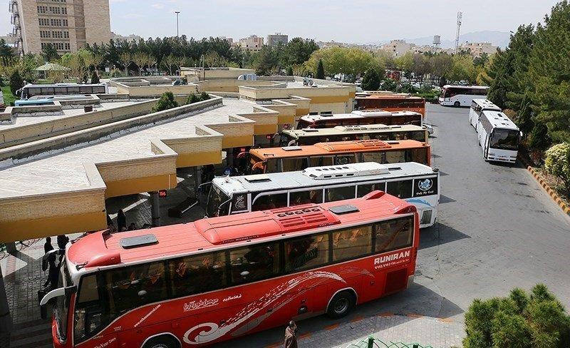 کاهش ۸۰ درصدی سفرهای جادهای/ ضدعفونی روزانه اتوبوسهای بین شهری