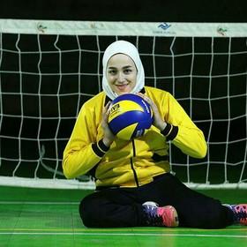 تیم والیبال نشسته مبارکه را با عمهام راهاندازی کردیم/ آرزویم کسب مدال طلای پارالمپیک است
