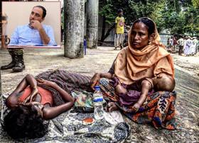 """""""آنگ سان سوچی"""" در بین مردم میانمار جایگاهی نداشت/ جز بیماری، سوء تغذیه و مرگ چیزی ندیدم"""