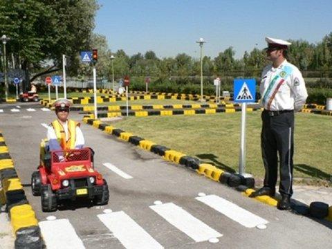 راه اندازی پارک ترافیک در خرم آباد