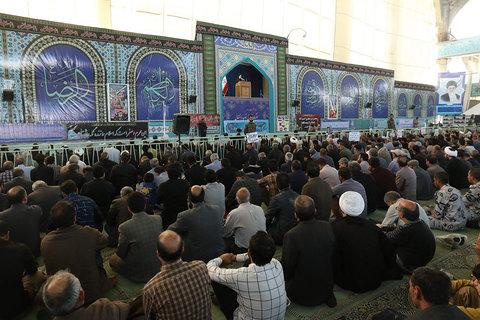 نماز جمعه این هفته اصفهان به امامت آیت الله مهدوی برگزار شد