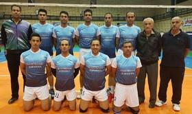 اصفهان نایبقهرمان مسابقات والیبال کلانشهرها شد