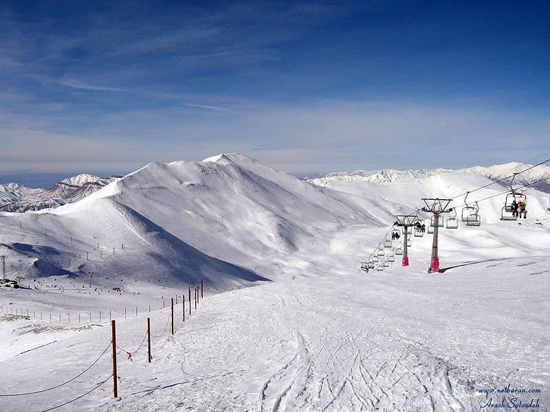Iran biggest untapped ski resort in world
