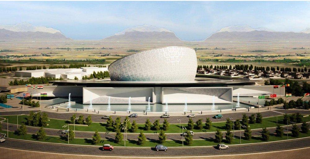 پیشرفت ۹۱ درصدی پروژه مرکز همایشهای بینالمللی اصفهان