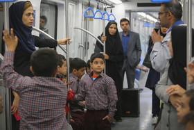 تورمتروگردی و آموزش شهروندی قطارشهری اصفهان ویژه مدارس اصفهان