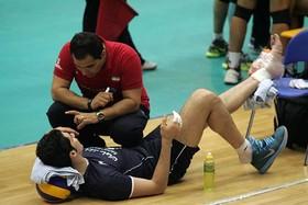 پیچ خوردگی مچ پا؛ شایع ترین آسیب ورزشی در والیبال