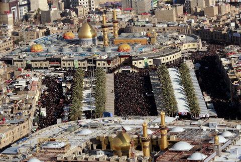 اعزام موکب امام علی(ع) شهرداری بیرجند به عتبات عالیات