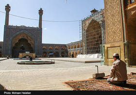 Jameh Mosque narrates ancient history of Isfahan