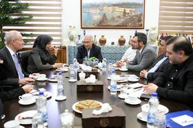 دیدارهییت بازرگانی آلمانی با شهردار و اعضای کمسیون گردشگردی اتاق بازرگانی اصفهان