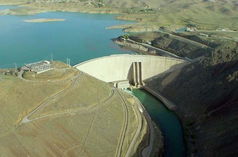 Reservoir behind Zayandeh-Rood Dam is 169 million CBM