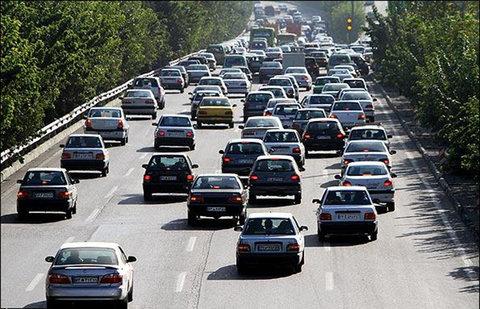 ترافیک در جادههای اصفهان روان است