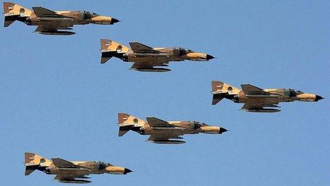 دومین تمرین مشترک جنگندههای نیروی هوایی ارتش و سپاه برگزار شد