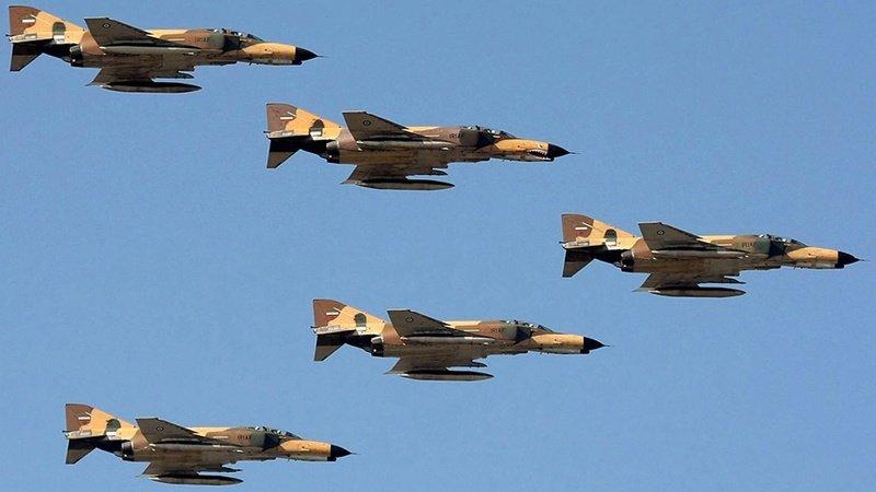 حمله ائتلاف آمریکایی به مواضع ارتش سوریه