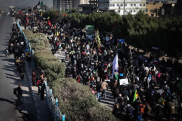 پیاده روی اربعین حسینی افتخار جهان تشیع است