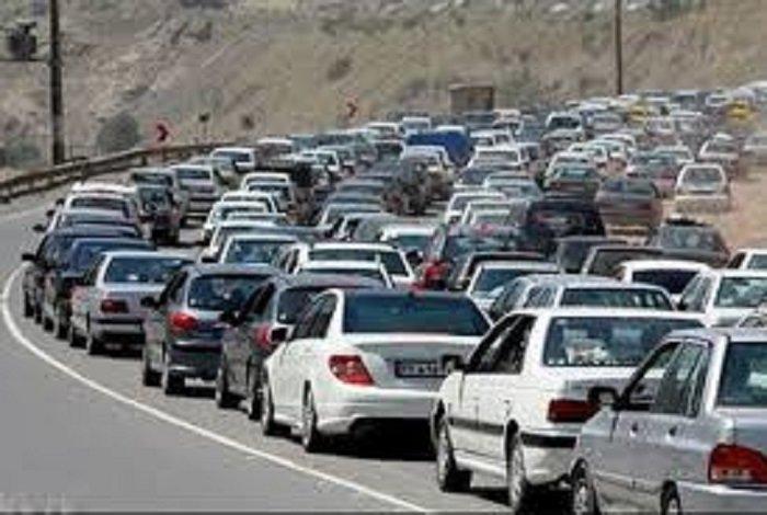 ترافیک نیمه سنگین در مسیرهای برگشت زائرین اربعین حسینی