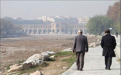 آلایندهها دست بردار هوای اصفهان نیستند