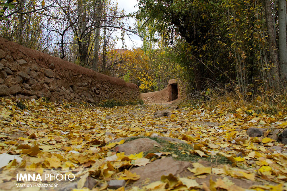 A Glimpse at Isfahan's Abyaneh in Fall
