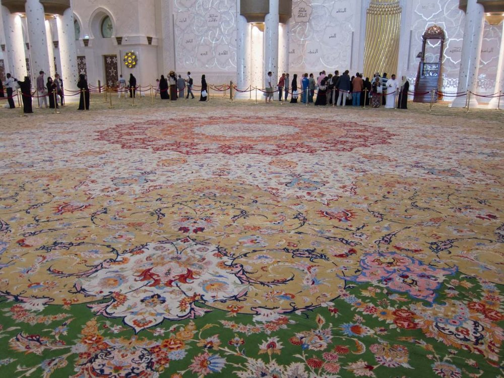 Iranian artists begin weaving world's 3rd largest carpet