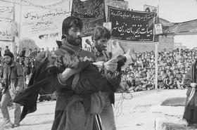 آیین کهن عزاداری اربعین حسینی در لنجان+تصاویر