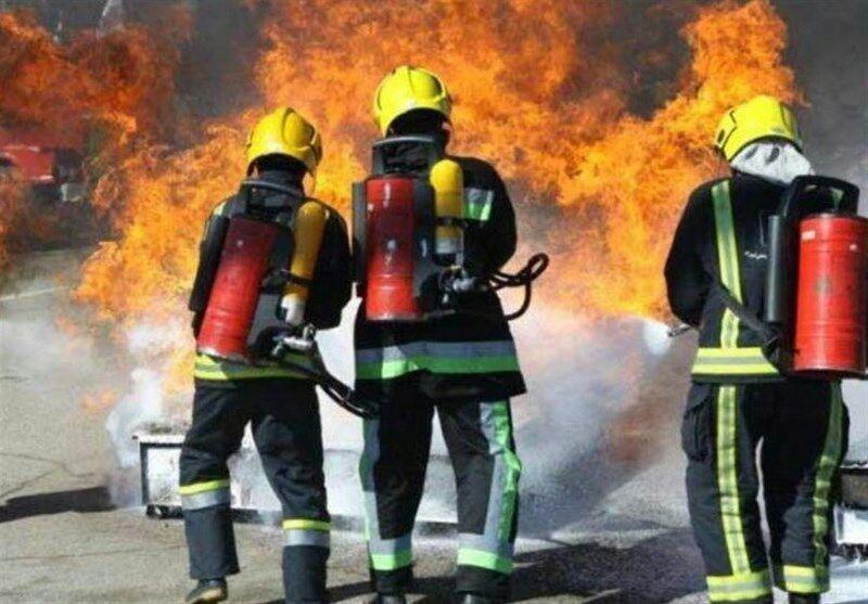 کارگران دامداری در آتش گرفتار شدند