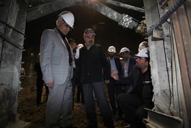 بازدید شهردار اصفهان از روند پیشرفت خط ۲ متروی اصفهان