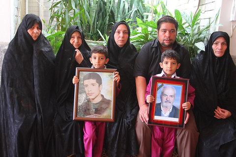دیدار و گفتگو با خانواده شهید غلامرضا یبلویی