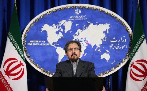 """بهرام قاسمی: تحریم ۱۸ بانک ایرانی چیزی نیست جز اقدامی """"جنایت کارانه"""" و """"ضد بشری"""""""
